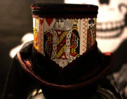 King of Hearts Top Hat by Opergeist