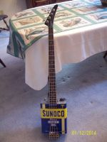 Canocaster II Electric Bass Guitar by VinnyMartello