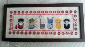 Rise Of The Guardians Xmas Custom Cross Stitch by PossumPip-Creations