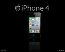 iPhone 4 Icon by PRATH33K