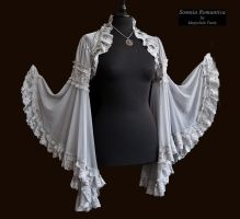 Angelic shrug dark grey, by Somnia Romantica by SomniaRomantica