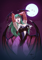 Morrigan by yinfaowei