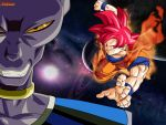 DBZ Lord Bills VS Goku SSJ God by Nakaso