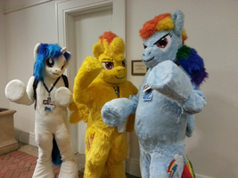 Fursuit Ponies! by StealthNinja5