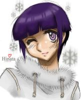 Hinata in Winter by Luzille
