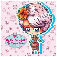 THG: Effie Trinket by cheese-cake-panda