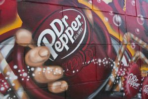 Dr Pepper mural by moria330