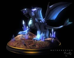 Netherdrake - Different Render by Kampidh