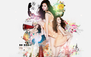 Hyuna Wallpaper Ver1 by Your-luv