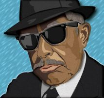 Blues Brothers Cab Calloway by CuddlyLittlePurrrson