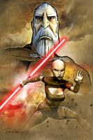 Dooku by SteveAndersonDesign