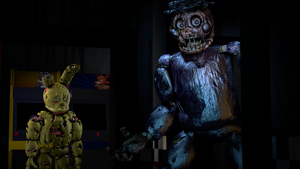 Locking The Springtrap by Legoguy9875
