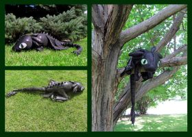 Toothless Plushie by NocturnalEquine