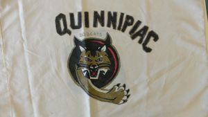 Quinnipiac College Pillow Case by TheWrittenRaven