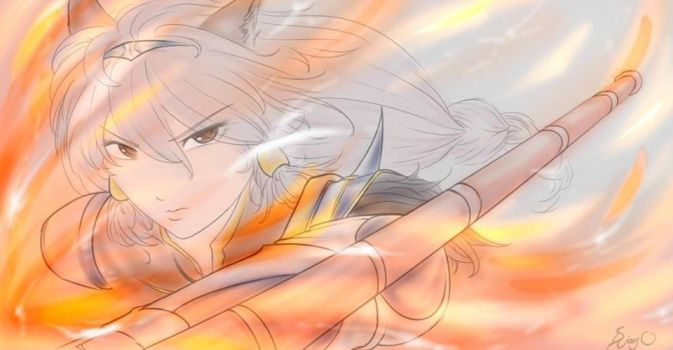 [GBF] Heles by 2Unkown2Know