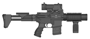 M4A1 SCS-PDW by GrimReaper64