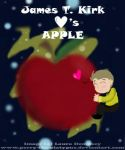 ST: Jim x Apple Lurve by Perry-the-Platypus