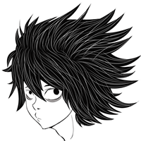 Death Note- L by ChaoticCoffee64