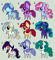 .:ADOPTABLES [Open]:. by Maniactheleader