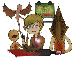 Welcome to Silent Hill, Pewdie by Friwil