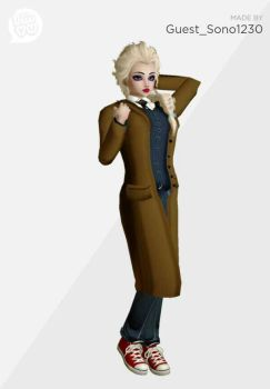 10th Doctor Elsa by SVRMAN3