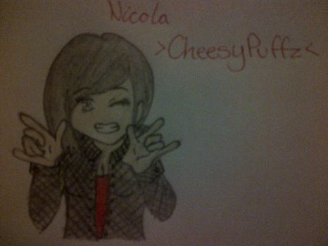 Nicola 'CheesyPuffz' -Request- by moonfire12
