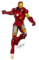 IronMan by JoeGrafix