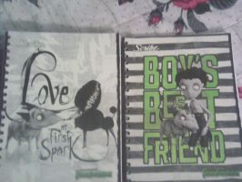 FRANKENWEENIE NOTEBOOKS AGAIN by Mariaxshadow1