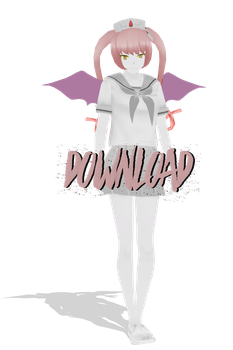 MMD - Yandere Simulator =  Ebola Chan DOWNLOAD by xxSnowCherryxx