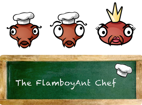 The FlamboyAnt Chef 01 by GwenStacy