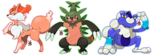 Starters evolution by icaro382