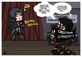 Two good reasons to not include Assassin woman by Akatsuya
