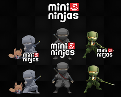 Mini Ninjas Dock Icon Pack by Timmie56
