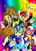 Rockman Chaotic Hunters by scarlet1100101