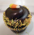 Candy Corn Cupcake by Heidilu22