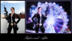 Before and After Cosplay Artwork by rsiphotography