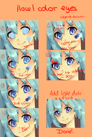 How I color eyes by Chiyo-chi
