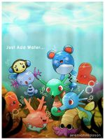 Pokemon : Just Add Water by MayaIdanan