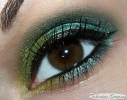 Green Louma Eyeshadows by Talasia85