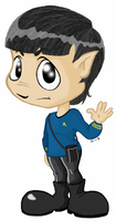 Spock Rocks by SarahRuthless