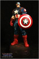 Bowen Ultimate Captain America Statue by Lokoboys