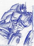 TFP-Optimus (ballpoint sketch) by Evaison