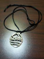 Metalbent Waterbending Pendant by craftysorceress