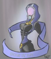 Tali by fakefrogs