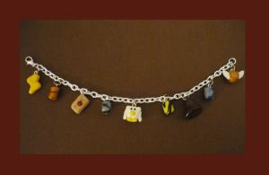 Harry Potter Charm Bracelet by MerryBrandy25