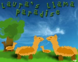 Lauras Llama Paradise by Wezza-T