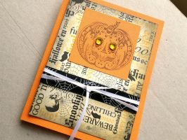 Pumpkin Card by tencrowns-studio