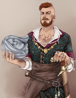 Witcher 3. Olgierd Von Everec by TricketWar