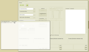 Sandy GTK and Emerald Theme by londonali1010