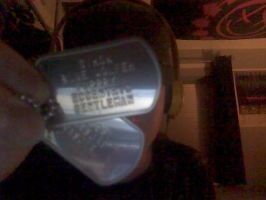 Ma new Dog Tags by Wasjig